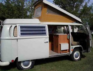 VW Camper Van 2